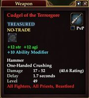 Cudgel of the Terrorgore