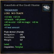 Gauntlets of the Gnoll Hunter