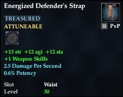 Energized Defender's Strap