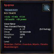 Spayrun