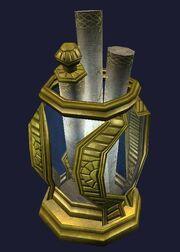 A Vigilant scroll vase (Visible)