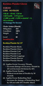 Reckless Plunder Gloves