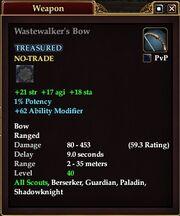 Wastewalker's Bow
