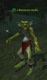 A Runnyeye medic (Enchanted Lands)