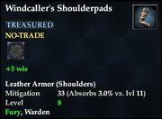 Windcaller's Shoulderpads