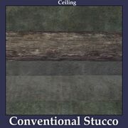 Ceiling Conventional Stucco
