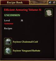 Efficient Armoring Volume 31