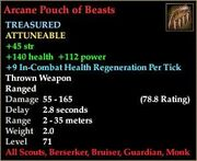 Arcane Pouch of Beasts