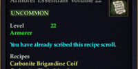 Armorer Essentials Volume 22