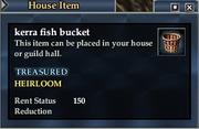 Kerra fish bucket