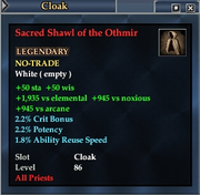 Sacred Shawl of the Othmir