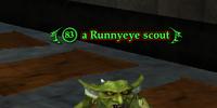A Runnyeye scout (Runnyeye: The Gathering)
