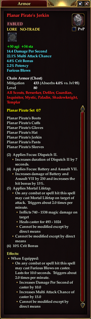 Planar Pirate's Jerkin