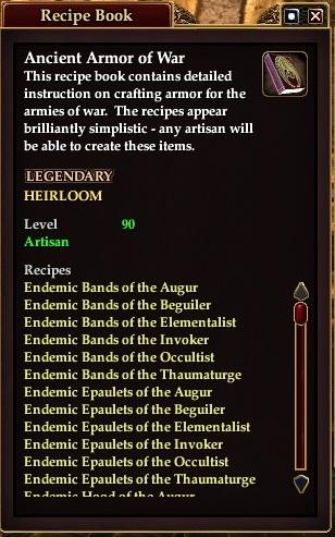 Ancient armor of war