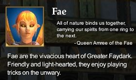 Fae (Character Race)