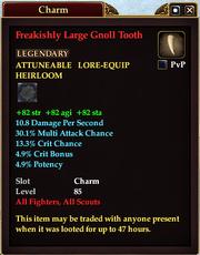 Freakishly Large Gnoll Tooth