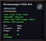 Mechanimagica Utility Belt