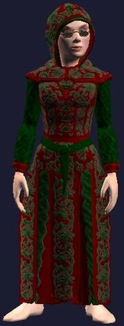 Robe of Festive Tidings (Equipped)