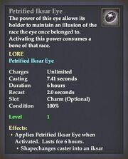 Petrified Iksar Eye