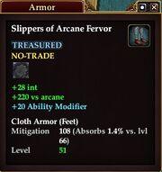 Slippers of Arcane Fervor