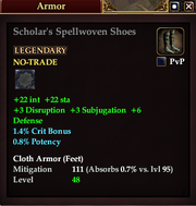 Scholar's Spellwoven Shoes