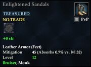 Enlightened Sandals
