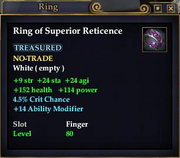 Ring of Superior Reticence