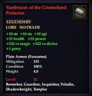 Vambraces of the Gnomeland Protector