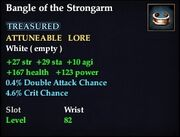 Bangle of the Strongarm