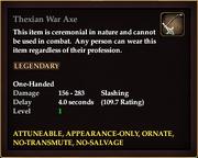 Thexian War Axe