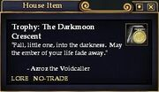 The Darkmoon Crescent