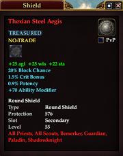 Thexian Steel Aegis