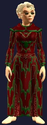 Festive Frostfell Robe (Equipped)