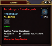 Earthkeeper's Shoulderpads