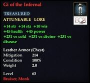 Gi of the Infernal