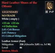 Hard Leather Shoes of the Othmir