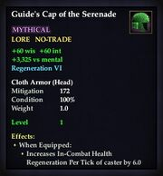 Guide's Cap of the Serenade