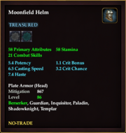 Moonfield Helm