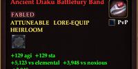Ancient Diaku Battlefury Band
