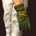 Vesspyr Citizen's Green Gloves (Equipped)