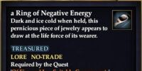 A Ring of Negative Energy