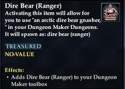 Dire Bear (Ranger)