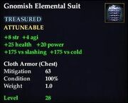 Gnomish Elemental Suit