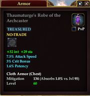Thaumaturge's Robe of the Archcaster