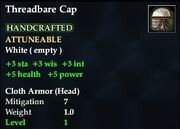 Threadbare Cap