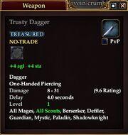 Trusty Dagger
