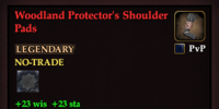 Woodland Protector's Shoulder Pads