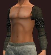 Midnight Shoulderpads of the Far Seas Traders (Equipped)