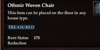Othmir Woven Chair