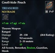 Gnoll-hide Pouch